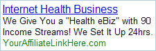 Internet Health Business